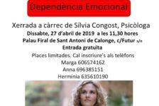 Dependència Emocional … a càrrec.. Psicóloga Silvia Congost!!