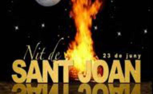 Dimecres 23-6: REVETLLA DE ST. JOAN A ST. PERE !! TANCADES INSCRIPCIONS …