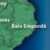 Logotip del grup Baix Empordà wassap amicsdegirona